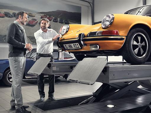 Porsche Classic Check und Gutachten.