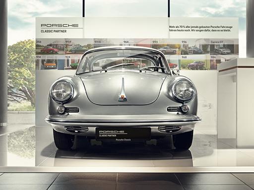 Willkommen bei Ihrem Porsche Classic Partner.